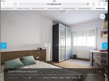 EasyPiso ES - Gran habitacion en barcelona - Sarrià-Sant Gervasi, Barcelona - 550 € por mes