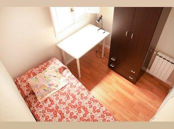 Habitación piso compartido, Gran Vía