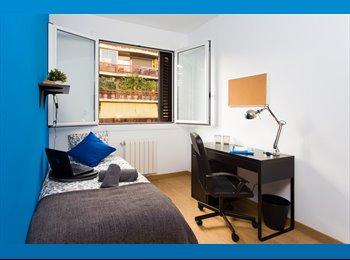 EasyPiso ES - ENTENÇA - Large Single Room , Barcelona - 560 € por mes