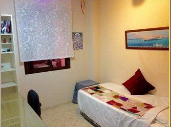 EasyPiso ES - Dos habitaciones libres en un piso compartido (cerca de puerta tierra), Cádiz - 250 € por mes