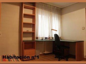 Habitación amplia CON BAÑO, tranquila, en piso céntrico y...