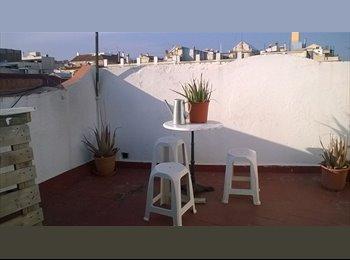 piso con terraza en Gracia