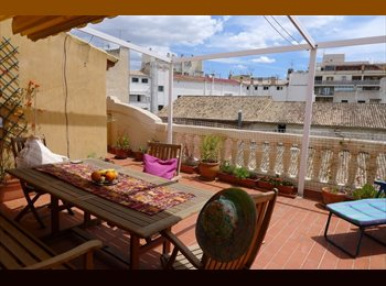 PRIVATE ROOM IN A PENTHOUSE FLAT WITH TERRACE IN THE VERY...