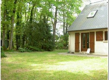 2 chb dans maison/jardin- super environmt-libre à partir  4...