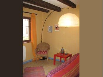Appartager FR - une chambre entre ville  et campagne - Bischheim, Strasbourg - 390 € /Mois