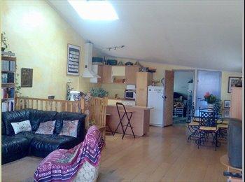 Appartager FR - duplex terrasse meublé type loft centre ville, Béziers - 350 € /Mois
