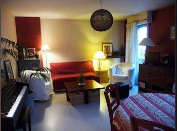 1 chambre - beau duplex T3 - Rennes - St Hélier