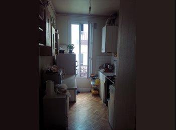 Chambre à louer à Asnières, proche métro