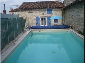 Coloc avec piscine pour étudiants ou jeunes actifs