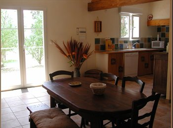 Appartager FR - maison à la campagne à 5 mn du centre ville - Béziers, Béziers - 375 € /Mois