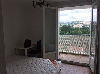 Appartement metro Rangueil, Chambre avec APL