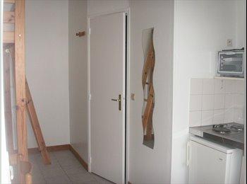 Appartager FR - studio meublé plein centre ville - Quimper, Quimper - 290 € /Mois