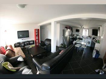 Appartager FR - Le PLATEAU :120 m² en centre ville, superbe vue !, Chambéry - 410 € /Mois
