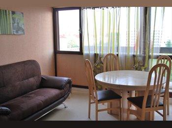 Chambres meublées près du métro APL possible