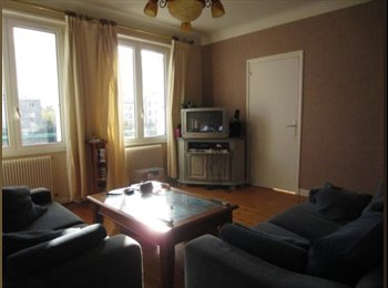 Appartager FR - Chambre meublee dans appartement de type 4 - Brest, Brest - 300 € /Mois