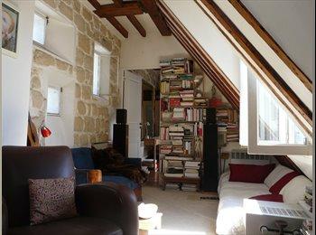 Appartager FR - Appartement 2 pièces meublé pour 2 coloc étudiants - 18ème Arrondissement, Paris - Ile De France - 700 € /Mois