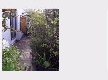Chambre+sd eau+ terrasse dans mini loft 1 à 3 mois