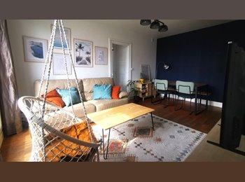 Chambre à louer dans F3 (92) à 12' de Paris St Lazare ou La...