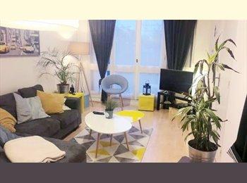 Appartager FR - Belle chambre double dans grand appartement - Bréquigny, Rennes - 360 € /Mois