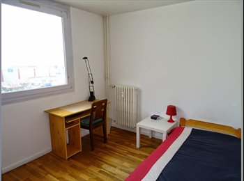Appartager FR - Chammbre meublée Lyon 8, colocation équipée, Lyon - 290 € /Mois