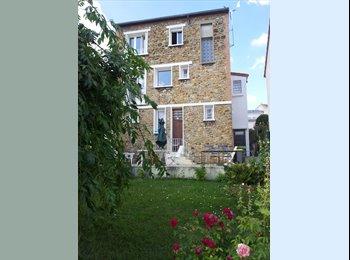 Grande Chambre dans Maison à Fontenay limite Vincennes et...