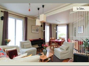 Nice rooms in 85sq meter appartment (Paris XIè)