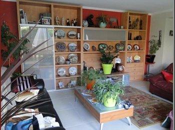 grande chambre récente et calme dans rez de jardin