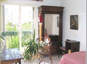 Appartager FR - T4 Chez l'habitant=2Chambre.Dispo+P.Cmune à partir - Ouest Littoral, Nice - 395 € /Mois