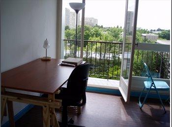 chambre meublée dans appartement en colocation