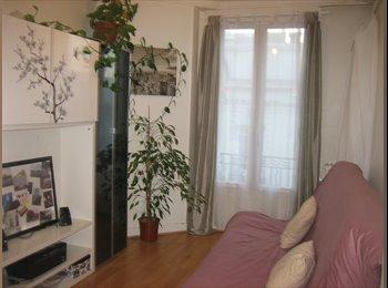 Appartager FR - propose chambre meublée 500euros, Paris - Ile De France - 500 € /Mois