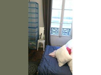 Ch sdb privée WIFI Marais petit apt deux chambres