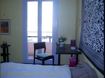 Appartager FR - chantal,celibataire loue grande chambre meublee pour femme - Perpignan, Perpignan - 350 € /Mois