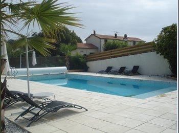 Appartager FR - chambre en duplex, Heugas - 300 € /Mois