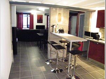 Appartager FR - Chambres avec wc et salle d'eau  sect.Tréfilerie, Saint-Etienne - 335 € /Mois