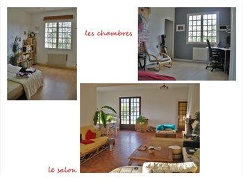 Appartager FR - Grande maison à la campagne - Hôpitaux-Facultés, Montpellier - 320 € /Mois