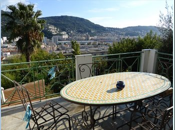 Appartager FR - Chambre dans maison avec jardin, Nice - 400 € /Mois