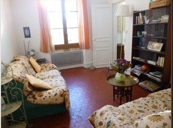 Appartager FR - appt pour 2 ou 3 coloc  80 m 2 centre de janvier  à juin - Avignon, Avignon - 360 € /Mois