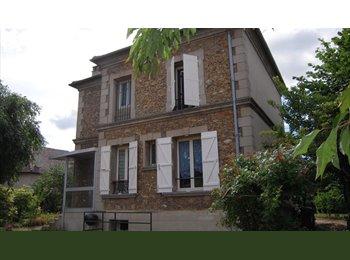 Chb avec SDB privée;maison+jardin,prox RER A (94)