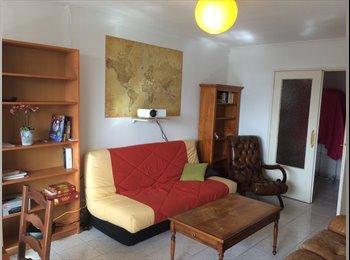 Appartager FR - coloc de 4 meublée-metro Gratte-Ciel, Villeurbanne - 395 € /Mois