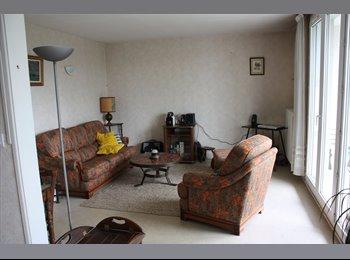 Appartager FR - Colocation 2 chambres appart 75 m2 TOURS SUD, Joué-lès-Tours - 280 € /Mois