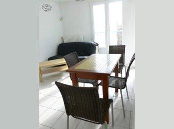 Appartager FR - Colocation étudiante : 2 Chambres dans T3 meublé, Grenoble - 380 € /Mois