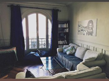 Appartager FR - Appartement 63M2 Paris 17eme Batignolles (Coloc 2 pers. meublé et équipé), Paris - Ile De France - 1900 € /Mois