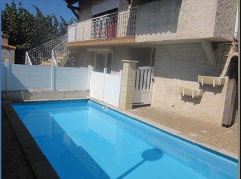 Chambres dans villa 180M² entre Aix et Marseille