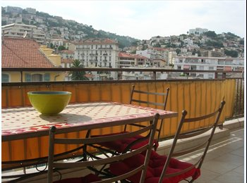 Coloc Nice Centre Beau Appart-Terrasse-2SDB