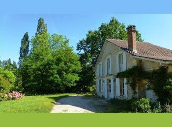 Appartager FR - colocation dans grande maison proche Bergerac - Bergerac, Périgueux - 283 € /Mois
