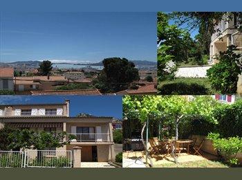 Appartager FR - Chambre en colocation dans grande villa Toulon, Toulon - 370 € /Mois