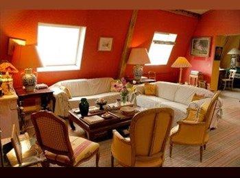 Appartager FR - Grand appartement en duplex sur cour très calme. - 8ème Arrondissement, Paris - Ile De France - 700 € /Mois
