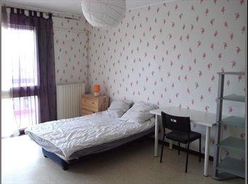 Grande chambre meublée 20m²