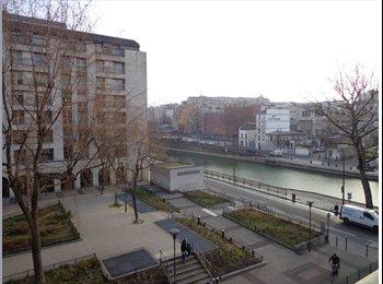 Coloc Paris 10 - Canal Saint Martin