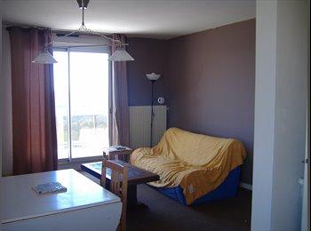 Appartager FR - Deux chambres dans grand F5 pour deux étudiantes en compagnie d'une troisième - Brest, Brest - 190 € /Mois